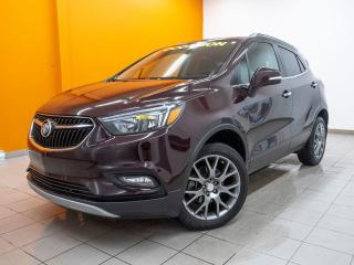 Used 2017 Buick Encore SPORT TOURING AWD CAMÉRA TOIT OUVRANT *NAVIGATION* for sale in St-Jérôme, QC