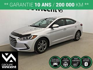 Used 2017 Hyundai Elantra GL ** GARANTIE 10 ANS ** Fiable et économique! for sale in Shawinigan, QC
