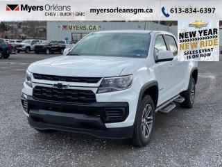 New 2021 Chevrolet Colorado WT  - SIriusXM for sale in Orleans, ON