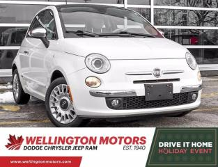 Used 2012 Fiat 500 Lounge | Low Km's | Clean CarFax !! for sale in Guelph, ON