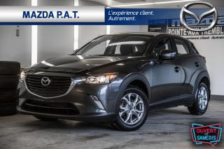 Used 2018 Mazda CX-3 AUTOMATIQUE,CAMÉRA DE RECUL,BLUETOOTH,BAS KM for sale in Montréal, QC