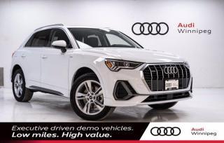 New 2021 Audi Q3 Technik w/Wireless Charging *DEMO* for sale in Winnipeg, MB