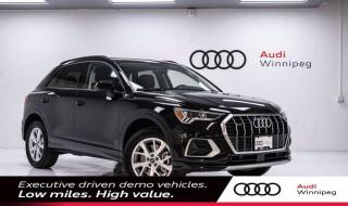 New 2021 Audi Q3 Technik for sale in Winnipeg, MB