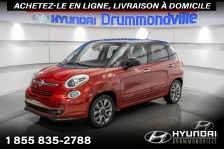 Used 2014 Fiat 500 L SPORT + GARANTIE + TOIT PANO + A/C + WOW for sale in Drummondville, QC
