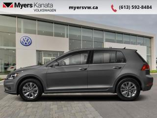 Used 2021 Volkswagen Golf Comfortline  - Alloy Wheels for sale in Kanata, ON