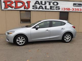 Used 2018 Mazda MAZDA3 Sport GX ONLY1165KM ,ACCIDENT FREE for sale in Hamilton, ON