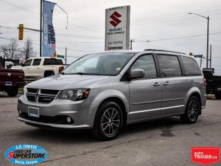 Used 2016 Dodge Grand Caravan R/T ~Nav ~DVD ~Camera ~Heated Leather ~Power Doors for sale in Barrie, ON