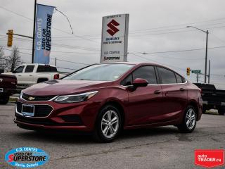 Used 2017 Chevrolet Cruze LT ~Heated Seats ~Power Sunroof ~Bluetooth ~Camera for sale in Barrie, ON