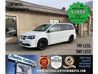Used 2020 Dodge Grand Caravan GT* B.cam/Nav/R.air for sale in Winnipeg, MB