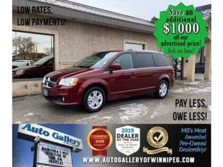 Used 2020 Dodge Grand Caravan Crew Plus* Nav/R.air/Htd seats/Dvd for sale in Winnipeg, MB