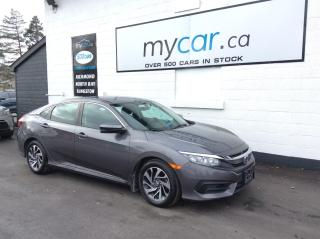 Used 2016 Honda Civic EX SUNROOF, HEATED SEATS, BACKUP CAM, ALLOYS!! for sale in Richmond, ON