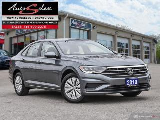 Used 2019 Volkswagen Jetta Comfortline ONLY 27K! **BACK-UP CAMERA*** CLEAN CARPROOF for sale in Scarborough, ON