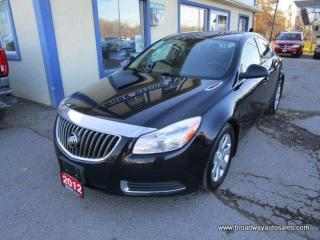 Used 2012 Buick Regal POWER EQUIPPED CX EDITION 5 PASSENGER 2.4L - ECO-TEC.. LEATHER TRIM.. CD/AUX/USB INPUT.. BLUETOOTH SYSTEM.. KEYLESS ENTRY.. for sale in Bradford, ON