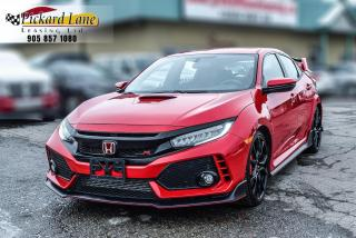 Used 2018 Honda Civic Type R ONE OWNER! | ACCIDENT FREE! | ONTARIO VEHICLE! for sale in Bolton, ON