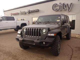New 2021 Jeep Wrangler Unlimited Sport | Sting Grey | Tow | Alpine for sale in Medicine Hat, AB