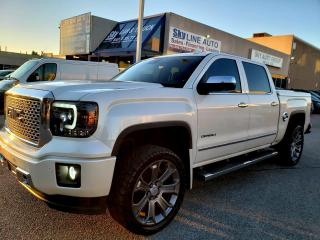 Used 2015 GMC Sierra 1500 Denali NAVIGATION|4X4|LEATHER|CAMERA|NO ACCIDENT|CERTIFIED for sale in Concord, ON