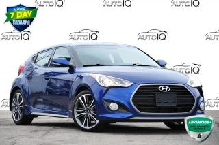 Used 2016 Hyundai Veloster Turbo TURBO | AUTO | LEATHER | NAVI | SUNROOF | for sale in Kitchener, ON