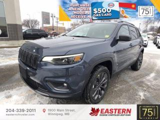 New 2021 Jeep Cherokee 80th Anniversary | Pano Sunroof | Remote Start | for sale in Winnipeg, MB