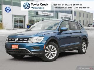 Used 2019 Volkswagen Tiguan Trendline 2.0T 8sp at w/Tip for sale in Orleans, ON