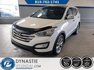 Used 2013 Hyundai Santa Fe SE  AWD/ CUIR/ SIEGE ET VOLANT CHAUFFANT (Frais vip 495$ non inclus) for sale in Rouyn-Noranda, QC