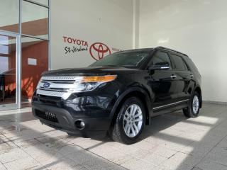 Used 2015 Ford Explorer * 4WD * XLT * CUIR * NAVIGATION * 7 PASSAGERS * for sale in Mirabel, QC