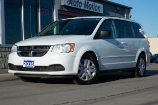 Used 2016 Dodge Grand Caravan SE/SXT CLEAN GOOD CONDITION THIRD ROW SEATING for sale in Chatham, ON