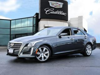 Used 2015 Cadillac CTS 3.6L Performance ONE OWNER!   CLEAN HISTORY! for sale in Burlington, ON