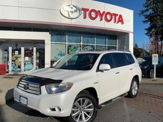 Used 2009 Toyota Highlander HYBRID 4WDi LTD 7-Pass for sale in Surrey, BC