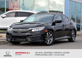 Used 2016 Honda Civic EX AUTO TOIT BAS KM AUTO MAGS TOIT OUVRANT APPLE CARPLAY** for sale in Lachine, QC
