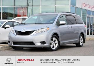 Used 2011 Toyota Sienna LE 8 PASS BAS KM 8 PASSAGERS MAGS BAS KM for sale in Lachine, QC
