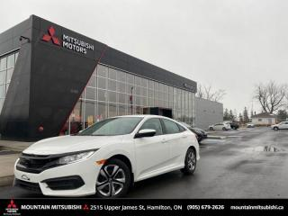 Used 2016 Honda Civic Sedan LX   - $86 B/W for sale in Mount Hope (Hamilton), ON