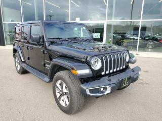 Used 2019 Jeep Wrangler Unlimited Sahara NAV, Apple CarPlay, Power Roof! for sale in Ingersoll, ON