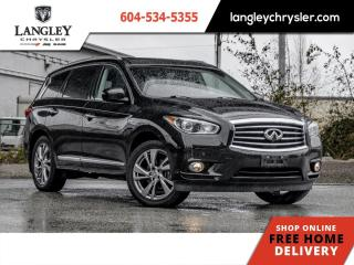 Used 2014 Infiniti QX60 HYBRID PREMIUM  Hybrid/ Hitch/ DVD/ Third Row Seats/ Local for sale in Surrey, BC