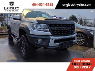 Used 2019 Chevrolet Colorado ZR2  Single Owner/ Canopy/ Local/ Accident Free for sale in Surrey, BC