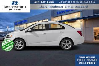 Used 2015 Chevrolet Sonic LT  - Heated Seats -  Backup Camera - $77 B/W for sale in Abbotsford, BC