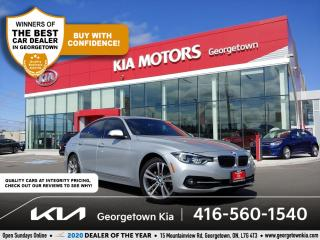 Used 2018 BMW 3 Series 330i xDrive|CLN CRFX|LTHR| NAV| SUNROOF| NEW TIRES for sale in Georgetown, ON