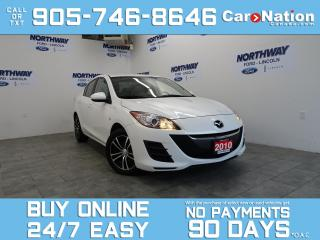 Used 2010 Mazda MAZDA3 UPGRADED ALLOYS | LOW KMS | OPEN SUNDAYS! for sale in Brantford, ON