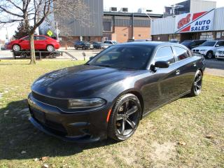Used 2015 Dodge Charger SXT ~ LEATHER ~ LDW ~ BSA ~ NAV ~  REAR CAM for sale in Toronto, ON