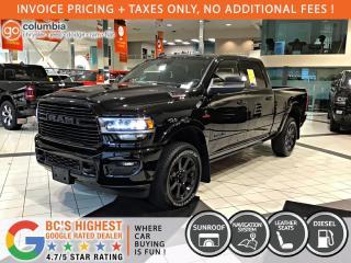 New 2020 RAM 3500 Laramie for sale in Richmond, BC