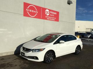 Used 2015 Honda Civic Sedan Touring / Auto / $2,000 Below Market / Touch Screen / Sunroof / Leather / Loaded for sale in Edmonton, AB