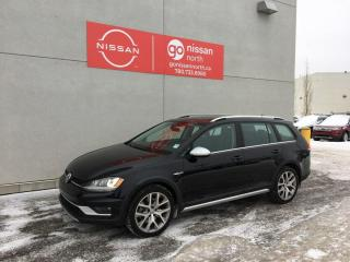 Used 2017 Volkswagen Golf Alltrack Drivers assist/Light and sound/4motion! for sale in Edmonton, AB