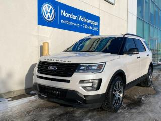 Used 2017 Ford Explorer SPORT AWD - FULLY LOADED EVERY OPTION for sale in Edmonton, AB