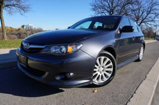 Used 2010 Subaru Impreza LOW KM'S / NO ACCIDENTS / LOCAL CAR / 5 SPD MANUAL for sale in Etobicoke, ON