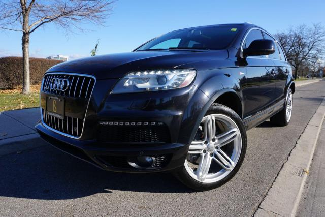 2011 Audi Q7 S-LINE / IMMACULATE / 7 PASS / LOCALLY OWNED