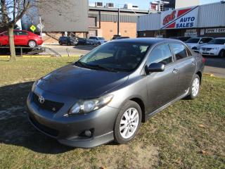 Used 2010 Toyota Corolla S ~ MANUAL ~ SAFETY INCLUDED for sale in Toronto, ON