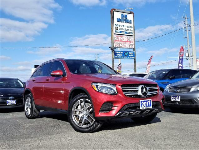 2017 Mercedes-Benz GLC 300 No Accidents|AMG|Front & Rear Heated sts|nav|Rcam