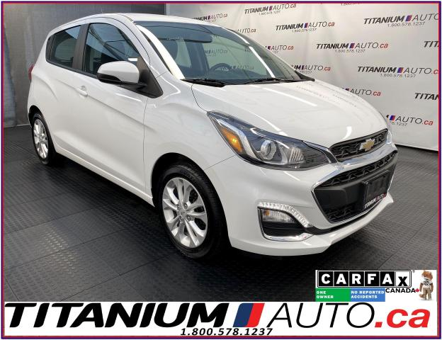 2019 Chevrolet Spark LT+Camera+A/C+Apple Play+Android Auto+XM Radio