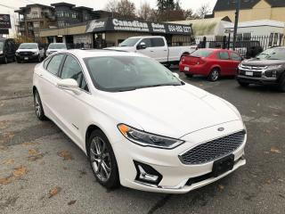 Used 2019 Ford Fusion Hybrid Titanium 2.0L 188HP/ELECTRIC CVT W/OD AUTO for sale in Langley, BC