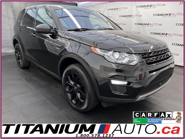 2017 Land Rover Discovery Sport HSE+GPS+Pano Roof+360 Camera+Cooled Seat+Blind Spo