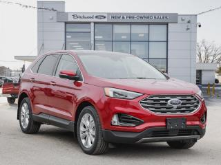 New 2020 Ford Edge Titanium 301A PANO ROOF | NAV | CLD WTHR PKG for sale in Winnipeg, MB
